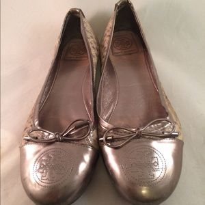 Tory Burch Animal Print Flats - Size 9